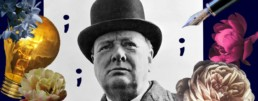 Using the semicolon correctly - learning from Winston Churchill