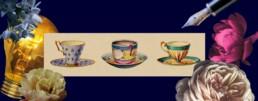 Less than or fewer than - tea cups