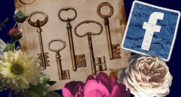 Facebook business page - picture of keys