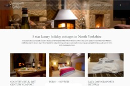 Holiday cottages web content - local area