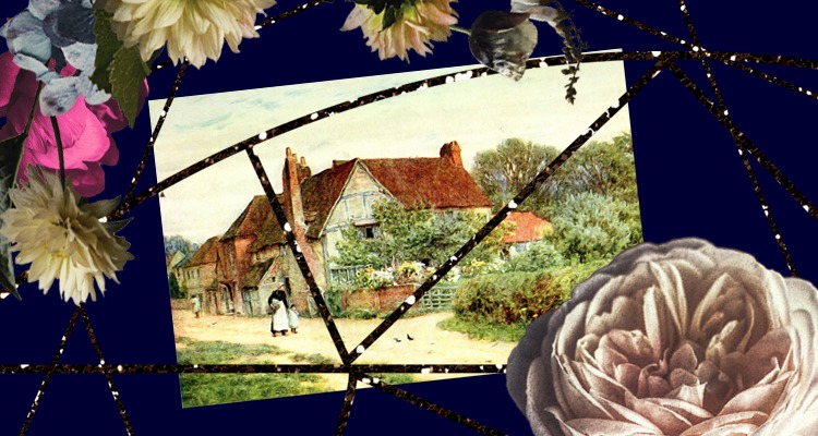 Blog - holiday accommodation website - cottage painting