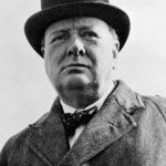 Writer Winston Churchill